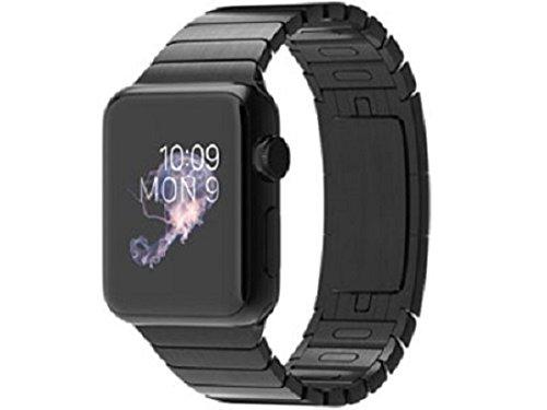 Apple Watch 38mm MJ3F2J/A [スペースブラック ステンレススチールリンクブレスレット]の商品画像