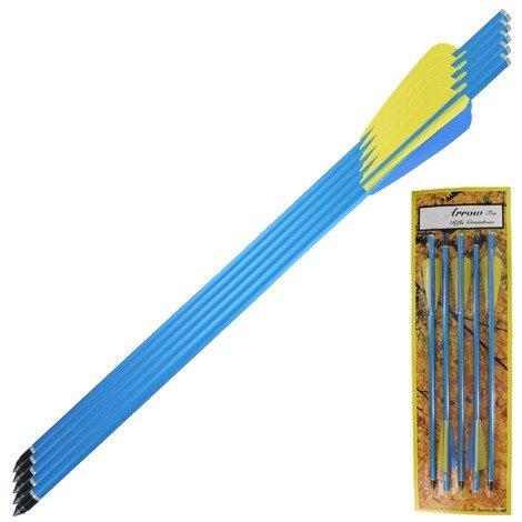 5 Pcs x 14-1/2'' Crossbow Aluminum Arrow - 150 Lbs