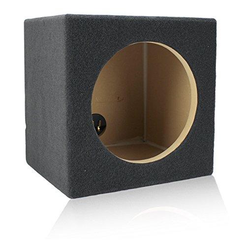 0.55 ft^3 Sealed MDF Sub Woofer Enclosure for Single JL Audio 10