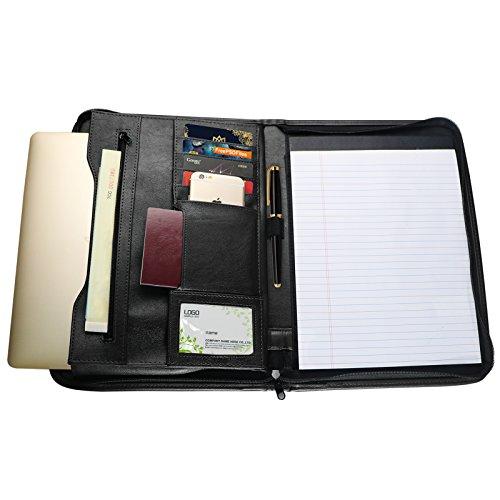 tyson-portfolio-case-personal-organizer-travel-padfolio-zippered-closure-with-writing-pad-holder-poc