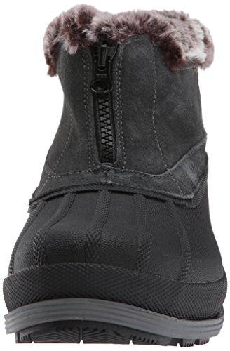 Propet Donna Lumi Ankle Zip Snow Boot Grigio