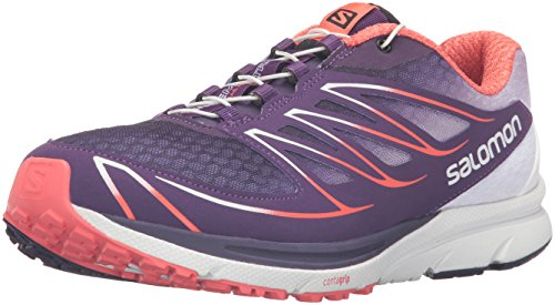 Salomon L39013400, Zapatillas de Trail Running para Mujer Morado (Cosmic Purple /     White /     Coral Punch)