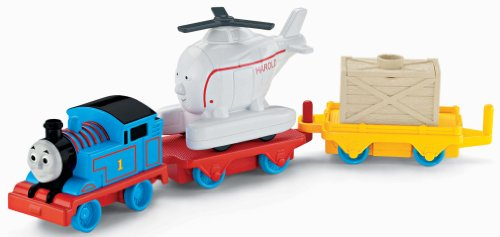 Fisher-Price Thomas & Friends Push and Spin Thomas and Harold (Harold Vehicle)