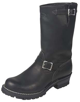 """Wesco Boss 11"""" Engineer Boots 7700100 (7 D US Men, black)"""