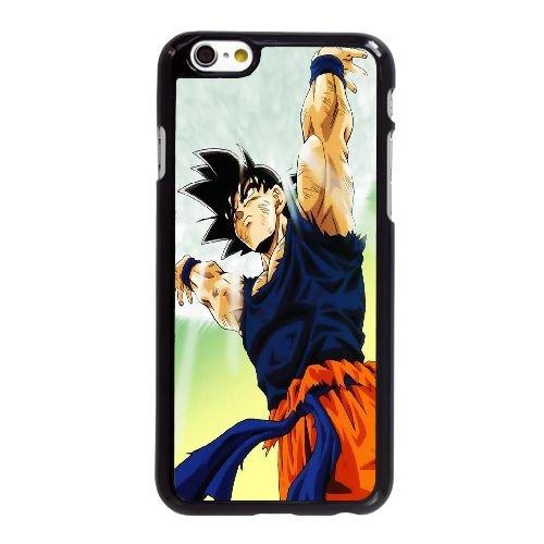 Y7Y28 Son Goku W6X4WA coque iPhone 6 4.7 pouces Cas de couverture de téléphone portable coque noire RW1LOI7GH