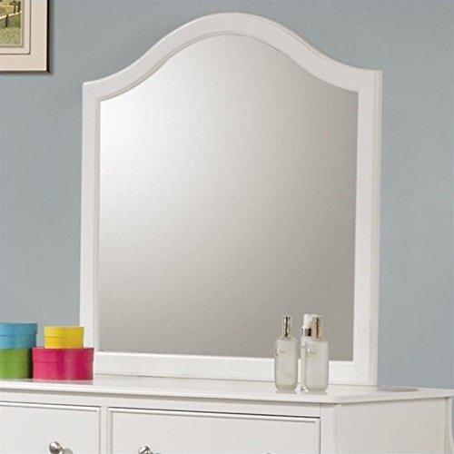 Coaster Home Furnishings Dominique Dresser Mirror White