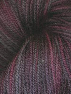 - Ella Rae Yarn - Lace Merino Hand Painted - Grey, Plum, Deep Purple 205