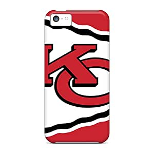 New Fashion Premium Tpu Case Cover For Iphone 5c - Kansas City Chiefs