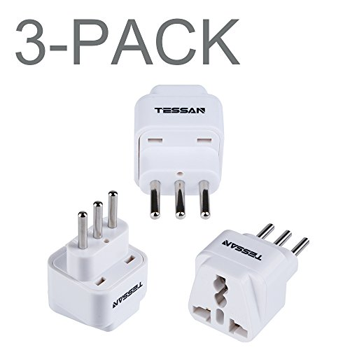 TESSAN Grounded Universal Adapter Converter