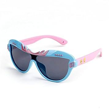Gafas de sol infantiles baby polarizados gafas anti ultravioleta suave de dibujos animados de niños y