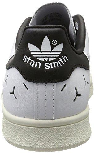 Adidas Damen Stan Smith Sneaker Weiß (schoeisel Wit / Schoenen Wit / Kern Zwart)