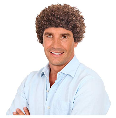 70s Costumes Ideas Mens - 70s Short Brown Afro Disco Wig