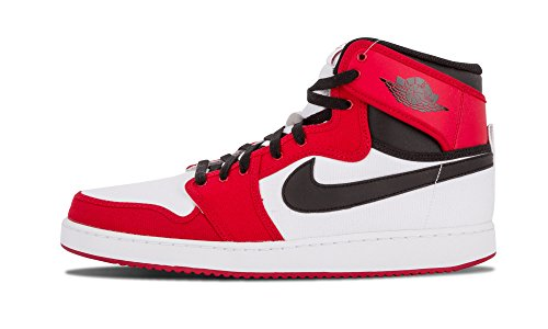best sneakers fc1a9 e4330 Jordan Mens AJ1 Ko High OG White Black-Varsity Red 638471-101 11 - Buy  Online in UAE.   Apparel Products in the UAE - See Prices, Reviews and Free  Delivery ...