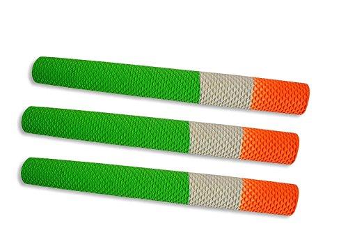 Tri-Colour Cricket Bat Handle Grip (Pack of 3)