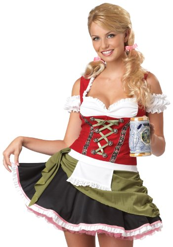 Bavarian Beer Girl