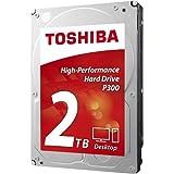"Disco Duro Interno Toshiba P300, 2Tb, 3.5"", Sata Iii, Cache 64Mb, 7200 Rpm (Hdwd120Uzsva)"