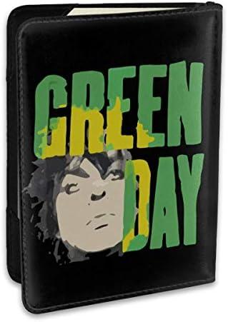 Green Day ロング グリーンデイ パスポートケース パスポートカバー メンズ レディース パスポートバッグ ポーチ 収納カバー PUレザー 多機能収納ポケット 収納抜群 携帯便利 海外旅行 出張 クレジットカード 大容量