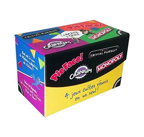 La boîte de jeu Cranium-Monopoly-Trivial Pursuit-Pie Face ...
