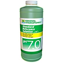 General Hydroponics PH 7 Calibration Solution for Gardening, 8-Ounce