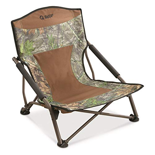 Guide Gear Magnum Turkey Chair, Mossy Oak NWTF Obsession Camo, Mossy Oak Obsession ()