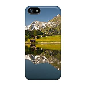 First-class Case Cover For Iphone 5/5s Dual Protection Cover Amazing Countryside Lscape