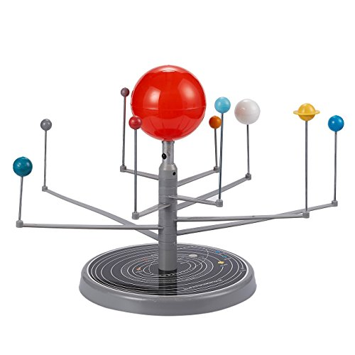 Juvale Solar System Kit - 3D Solar System Planetarium Model for Kids Science and Astronomy Classes, 8.5 x 11 x 13.7 Inches
