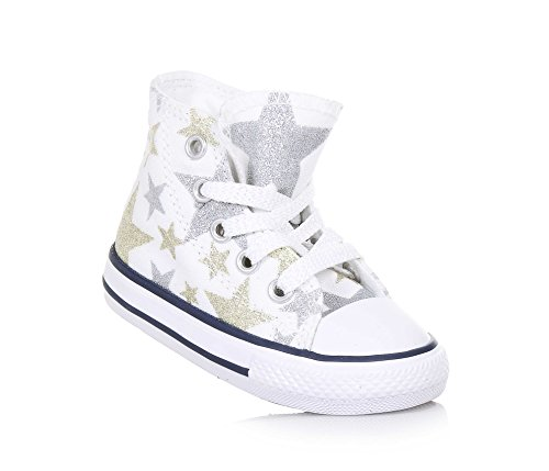 CONVERSE 356838C CT HI WHITE SNEAKERS Mädchen Bianco