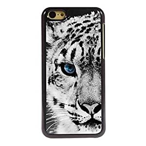 ZXSPACE Tiger Pattern Aluminum Hard Case for iPhone 5C , Blue