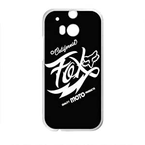 Happy Fox Brand New And Custom Hard Case Cover Protector For HTC One M8