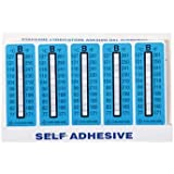 Digi-Sense AO-09035-22 Irreversible 5 to Point Vertical Temperature Label 320 to 360/°F//160 to 182/°C; 10//Pk