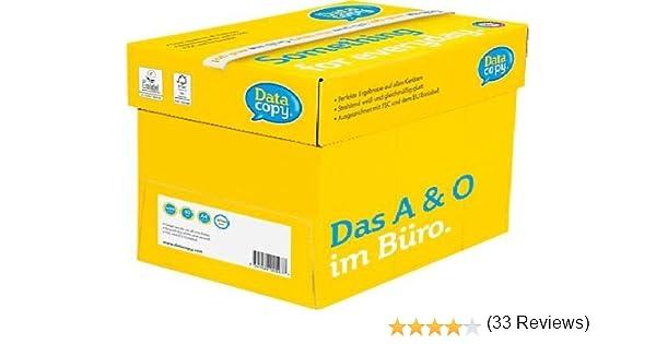Data Copy 4592 - Papel para impresora (80 g/m², A4, caja de 5 ...