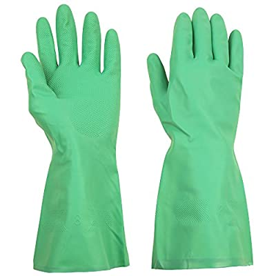 ThxToms Household Nitrile Gloves, Effectively Resist Oil, Acid, Alkali and Solvent, Extra Large, 1 Pair