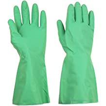 ThxToms (1 Pair) Reusable Nitrile Gloves, Household Cleaning Gloves for Dishwashing, Latex Rubber Free, Extra Large