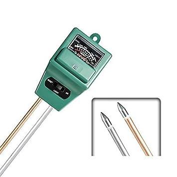 Messung Und Analyse Instrumente 3 In Boden Wasser Feuchtigkeit 1 Ph Tester Boden Detektor Wasser Feuchtigkeit Licht Test Meter Sensor Für Garten Pflanze Blume