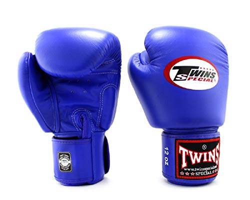 Twins Blue Boxing Gloves - 1