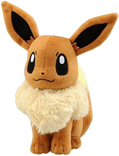 Stuffed Pokemon Eevee - Plush Animal That's Suitable For Babies and Children - Perfect Birthday Gifts - Toy Doll for Baby, Kids and Toddlers by BestKept Pokemon (Plush Pokemon Prime)