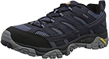 Merrell Moab 2 GTX, Zapatillas de Senderismo para Hombre, Azul (Navy), 44.5 EU