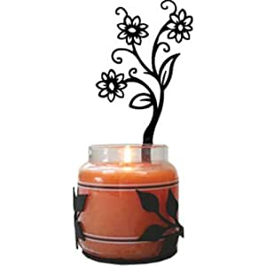 Amazon.com: Daisy Wall Mount Sconce Candle Holder: Home & Kitchen