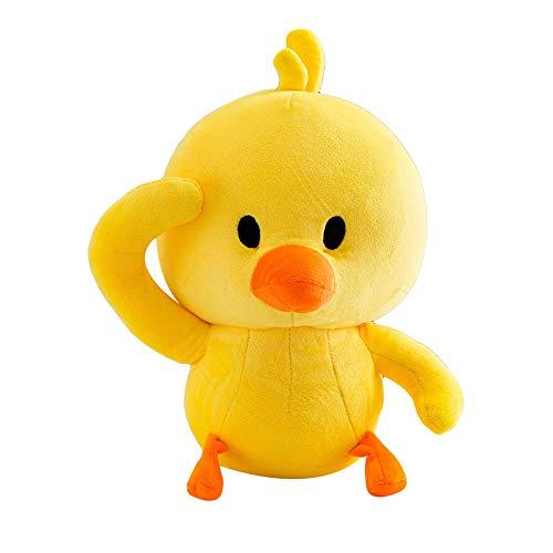 Vovomay Cute Little Duck Plush Toy Funny Emoji Toys Soft Stuffed Dolls Kids Xmas Gift New (L)