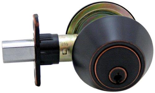 Lewis Hyman 1735095 Atlas Single Cylinder Dead bolt, Oil Rubbed - Single Atlas