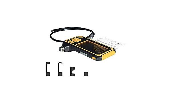 H.Y.BBYH Boroscopio 8mm Industrial endoscopio HD 1080P 4.3 ...