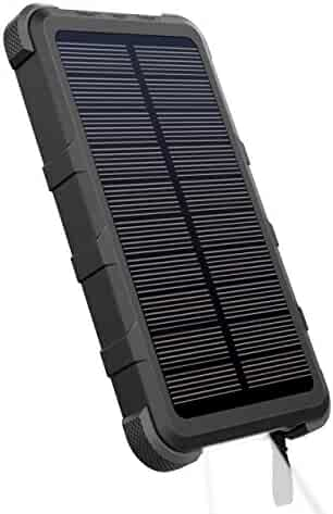 59a9e4a4a7d OUTXE 10000mAh Rugged Solar Power Bank with Flashlight IP67 Waterproof  Portable Charger Outdoor