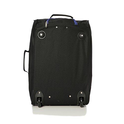 Maleta Negro negro Aprobado 35x20x20 Cabina Negro Trolley Y azul 55x40x20 Ryanair pvXgwq6