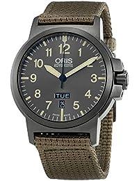 BC3 Grey Dial Nylon Strap Mens Watch 73576414263TSBGE. Oris