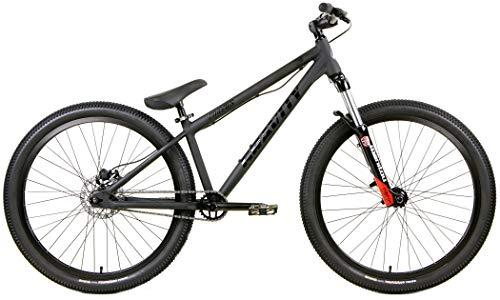 (Gravity CoJones Fly Dirt Jump Bike 26 Inch Wheel Manitou Circus Suspension Fork DJ Disc Brake (Matt)