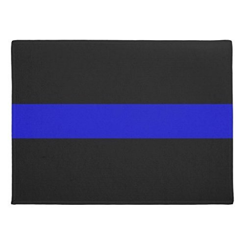 Genertic Thin Blue Line Doormat