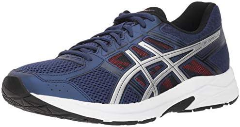 Asics Gel-Contend 4 - Zapatillas de correr para hombre, Azul (Océano Profundo/Plata), 41 EU: Amazon.es: Zapatos y complementos