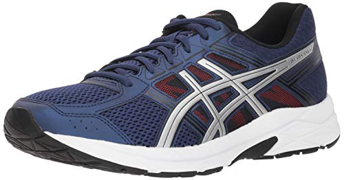 ASICS Gel-Contend 4 Men's Running Shoe, Deep Ocean/Silver, 11 M US