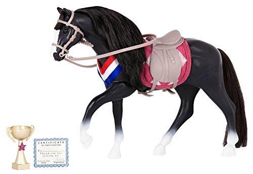 Irish Draft Horses - Lori Doll Horse Black Irish Draught Horse for 6 inch equestrian dolls