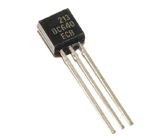 Quickbuying 10pcs BC640 TO-92 80V/1A PNP All/General Purpose Transistor